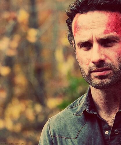 """Rick Grimes - season 2 """"Beside The Dying Fire""""."""