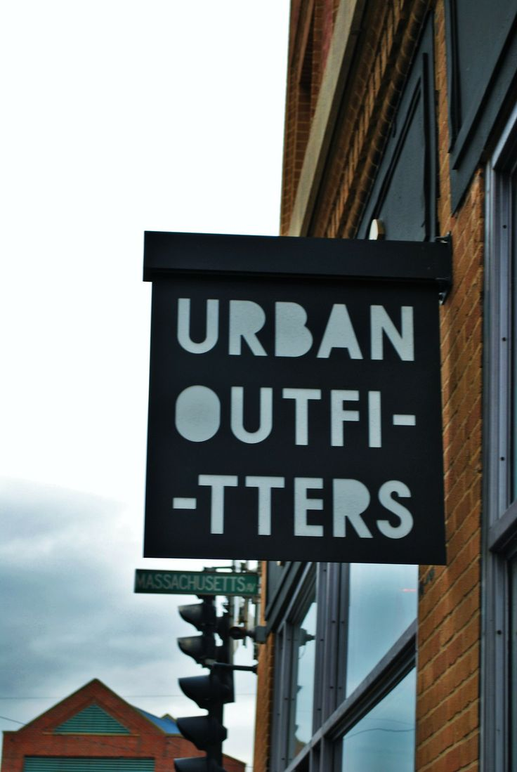 Urban Outfitters #Signage