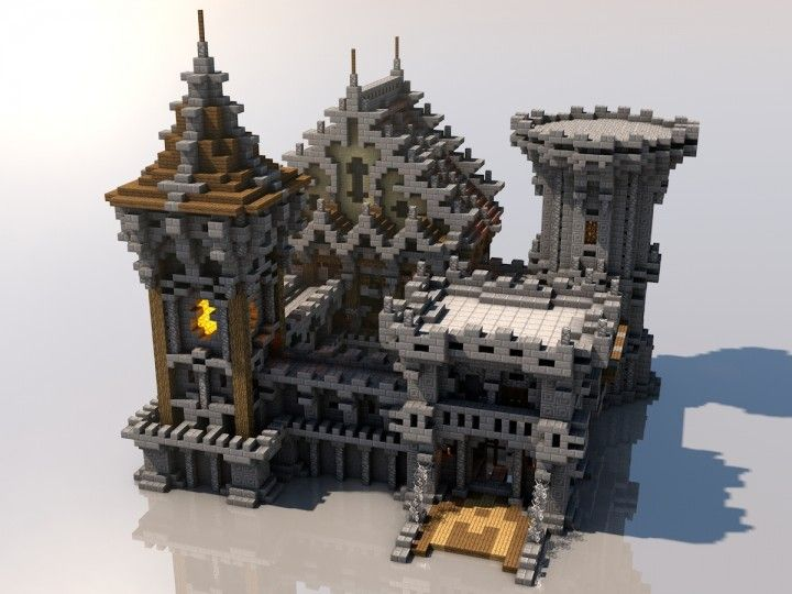 Medieval Mondays #6: Castle Minecraft Project