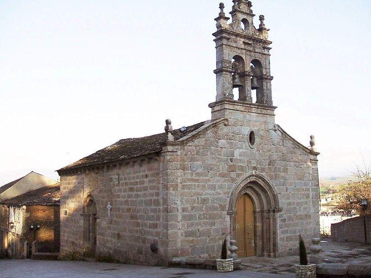Iglesia de San Salvador, Sarria, Lugo, Camino de Santiago