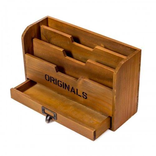 Krokoh | box kotak kayu storage alat tulis pajangan dekor interior design