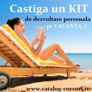 Intra in comunitatea Catalog-Cursuri.ro si poti castiga un kit de dezvoltare personala  http://www.catalog-cursuri.ro/Concurs-Intra_in_comunitatea_Catalog_Cursuriro_si_poti_castiga_un_kit_de_dezvoltare_personala-Concurs-31.html