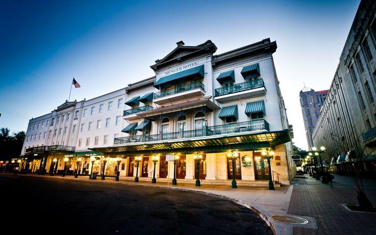 Menger Hotel downtown San Antonio.
