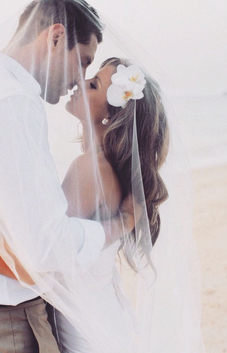 Renewing our vows in Florida just me, the hubby & kids!! It shall  be perfect! I want an intimate pic like this on the beach  =)
