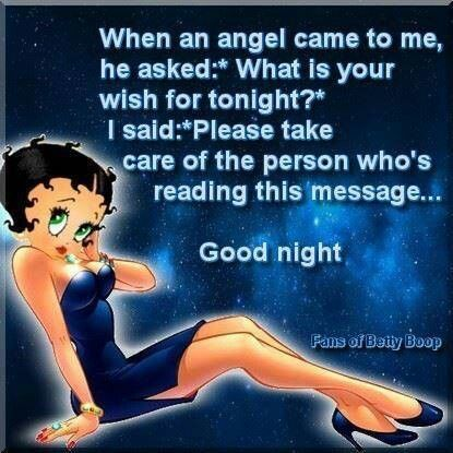 Good night Betty...