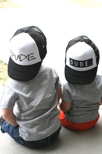 Dude Trucker Hats for Kids | Jane