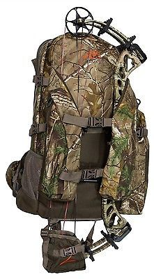 Hunting Back Pack Bow Rifle Gun, Hydration, Expandable Realtree HD Camo Backpack