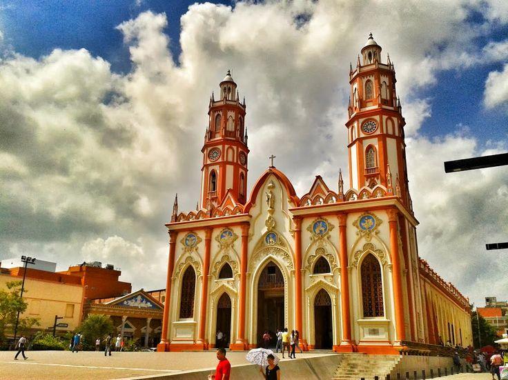 Colombia - Iglesa San Nicolas, Barranquilla, Atlantico.