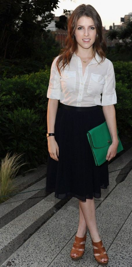 Anna Kendrick Fashion and Style - Anna Kendrick Dress, Clothes, Hairstyle