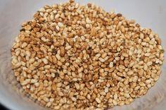 Faire du riz soufflé - Puffed Rice - Riz soufflé