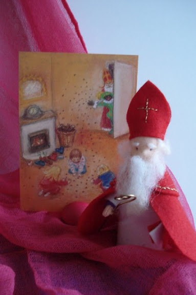 Felted Sinterklaas....to be so talented!