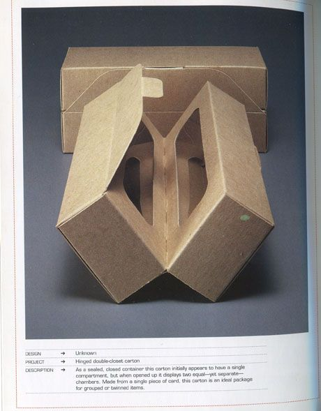 Cardboard Secret Box #packaging