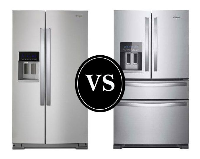 Side By Side Vs French Door Refrigerators Goedeker S Home Life French Doors French Door Refrigerator Reviews French Door Refrigerators