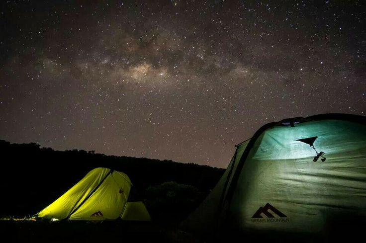 Moonlight 1 and Half Moon 2. Two model tent from Merapi Mountain.