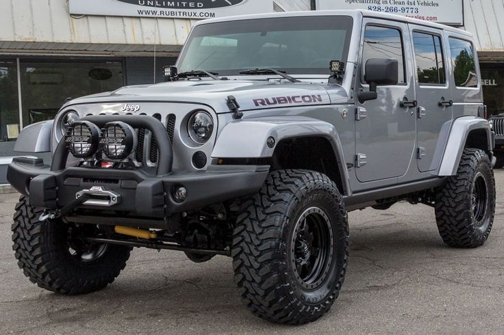2014 Jeep Rubicon Unlimited Billet