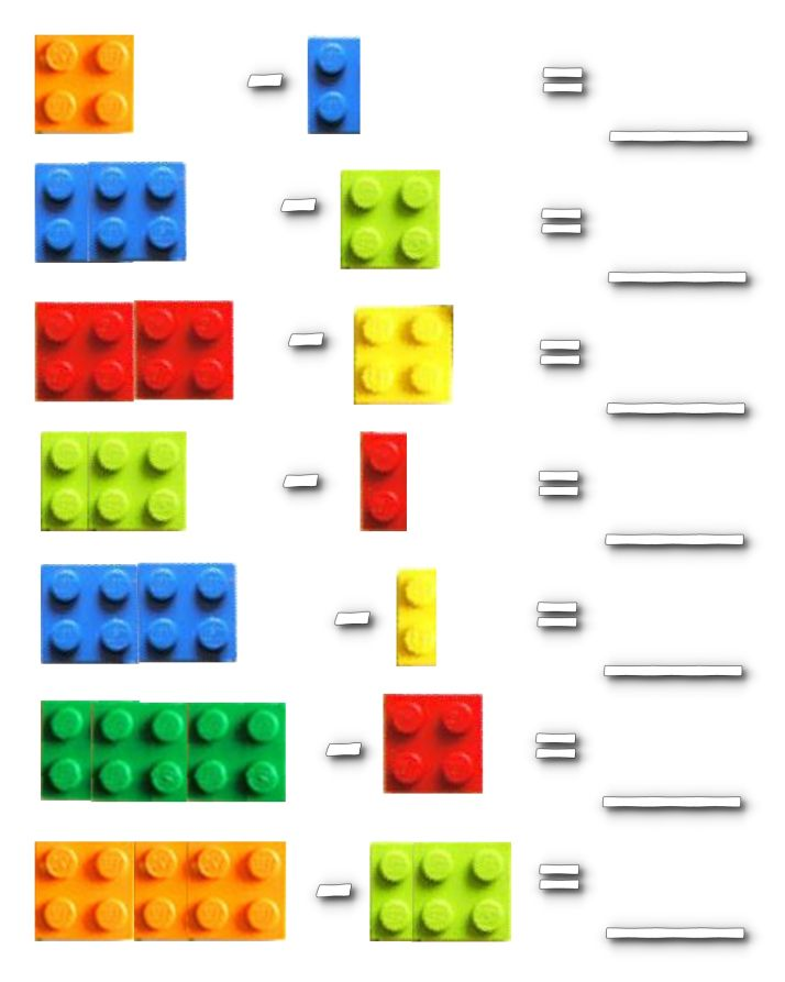 """Lego Math Worksheets « """"Jumpstart"""" for your own ideas!"""