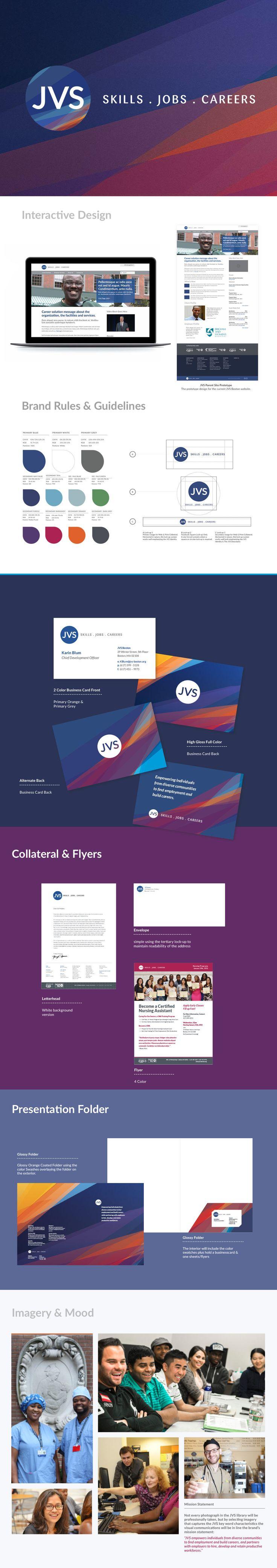 JVS - Brand Identity, Branding, Brand manual, logo, brandmark, website design, interactive design, brand application design, brand strategy guide. Creative By ElephantMark.