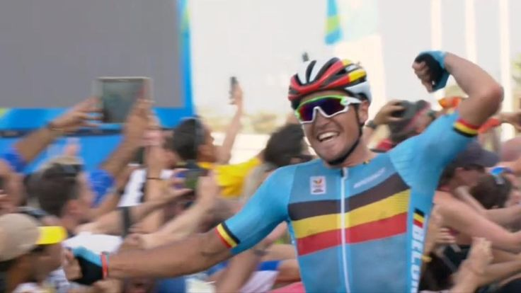 When you got the gold! Greg Van Avermaet (BEL) wins Olympic road race.   More #Rio2016 cycling to come - http://www.bikeroar.com/articles/number-rio2016-olympic-cycling-at-its-best.   _ #olympics #cycling #rio #riodejaneiro #goforgold