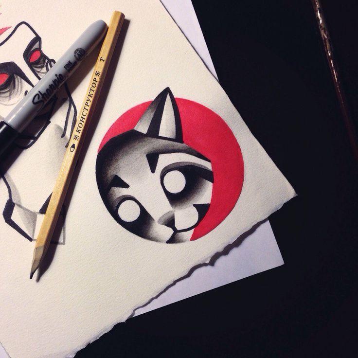 Tattoo Raccoon
