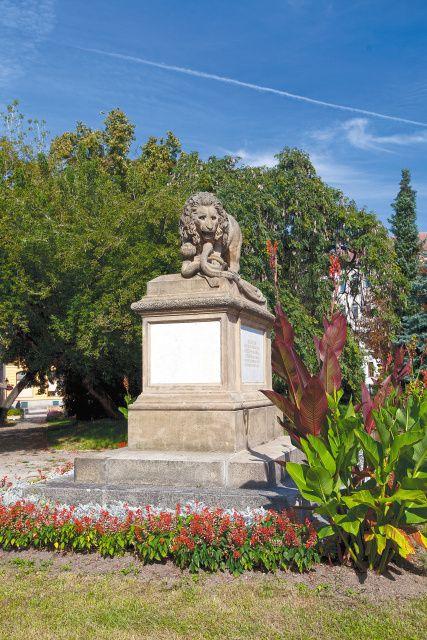 Písek - Monument honoring fallen Austrian soldiers