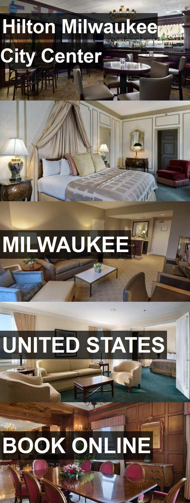 Hotel Hilton Milwaukee City Center in Milwaukee, United States. For more information, photos, reviews and best prices please follow the link. #UnitedStates #Milwaukee #travel #vacation #hotel