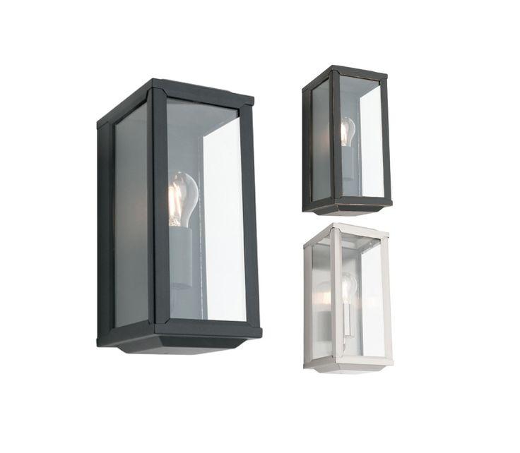 Angelsea+1+Light+Indoor/Outdoor+Wall+Light+-+IP44+Rated+-+Black,+Bronze,+Stainless+Steel+-+Cougar+Lighting, $78.00