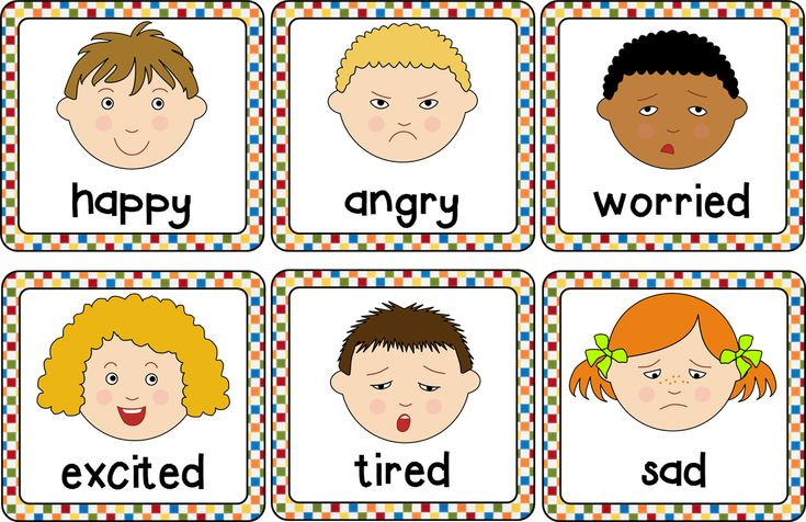 Slobbery image intended for free printable pictures of emotions