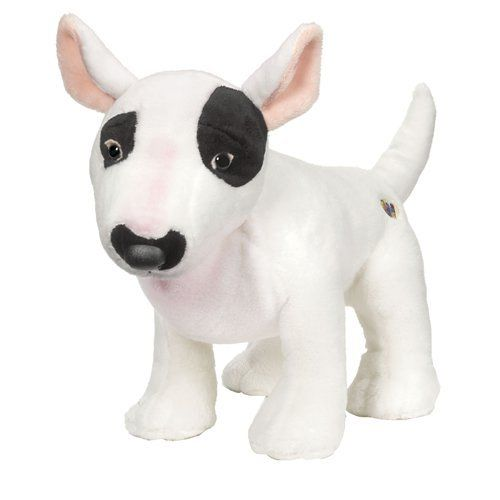 webkinz stuffed animals   Webkinz Plush Stuffed Animal Bull Terrier Toys & Games
