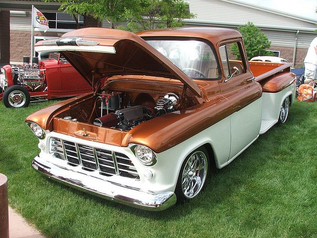 1955 Chevy Truck | 1955 chevy truck | Flickr - Photo Sharing!