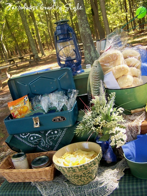 17 best images about fishing party ideas on pinterest for Fish themed party food