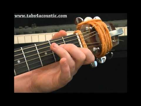 Cours de guitare gratuit : Les enchainements d'accords - Partie 1 - YouTube