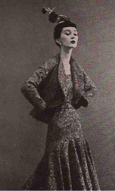 1950 BALENCIAGA, Avedon and Dovima ,Paris