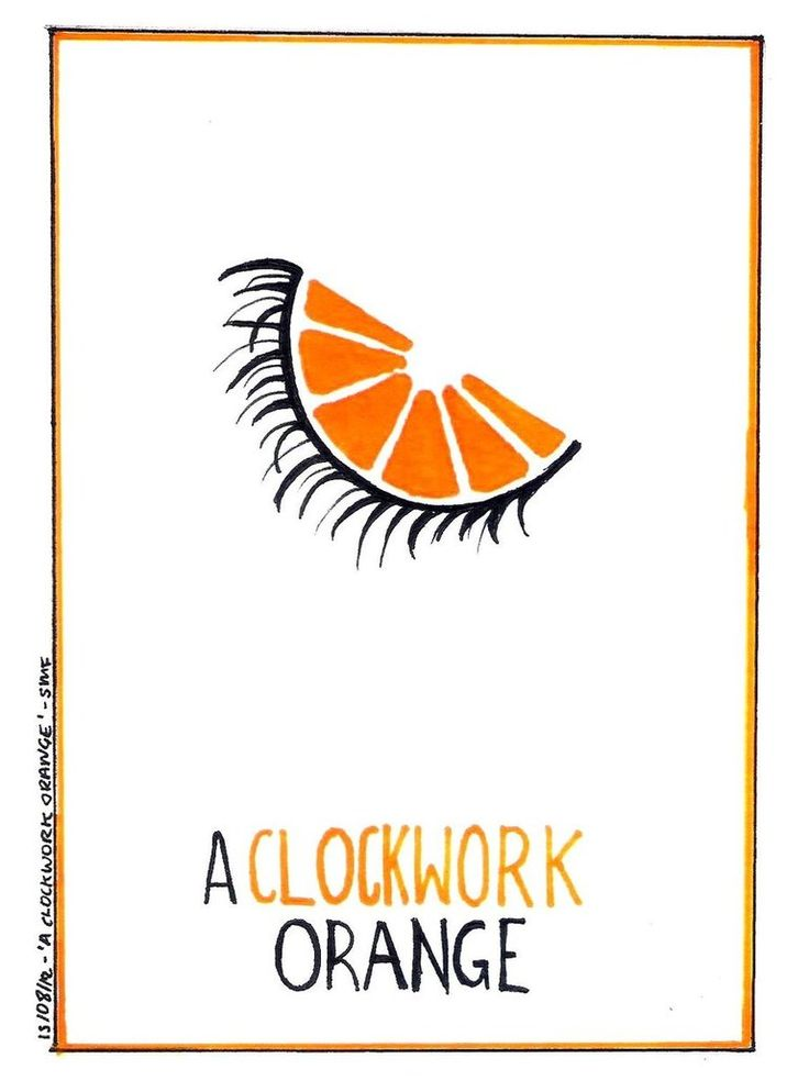 A Clockwork Orange - minimalist poster | Posters & Prints ... A Clockwork Orange Minimalist Poster