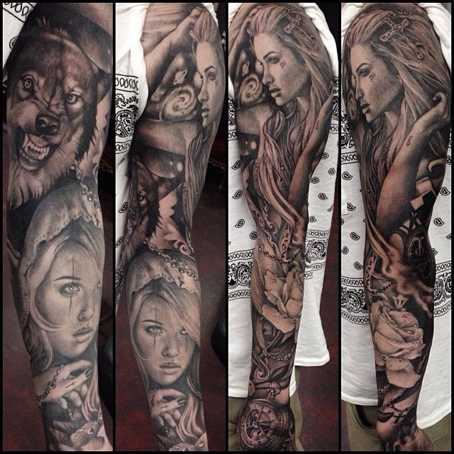 17 best images about realistic tattoos on pinterest ink back pieces and clock. Black Bedroom Furniture Sets. Home Design Ideas