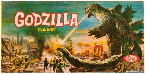 Godzilla the Board Game! The first Godzilla toy released in the U.S.!