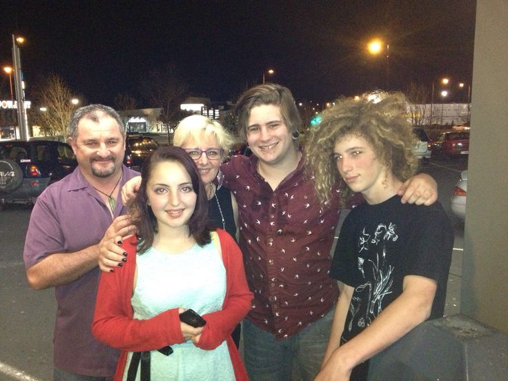 Family group- wonderful man & great kids