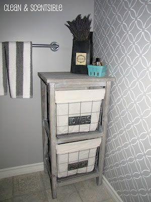 Cute bathroom - http://yourshabbychicdecorideas.com/?p=2295 - #home_decor_ideas #home_decor #home_ideas #home_decorating #bedroom #living_room #kitchen #bathroom #pantry_ideas #floor #furniture #vintage #shabby