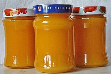 Kürbis-Zitronen-Marmelade