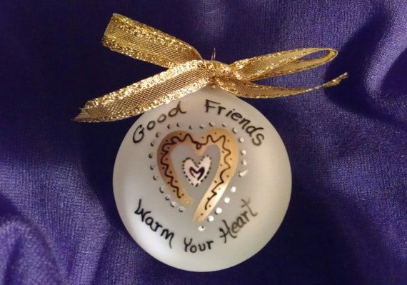 Personalized Christmas Ornament For Best Friend Group Of
