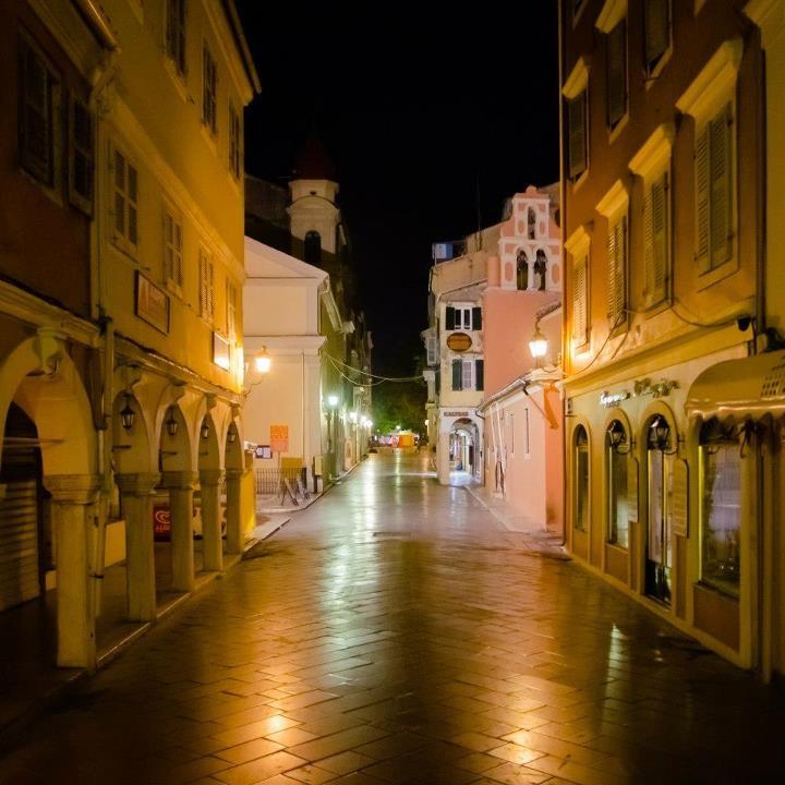 Beautiful Corfu Town