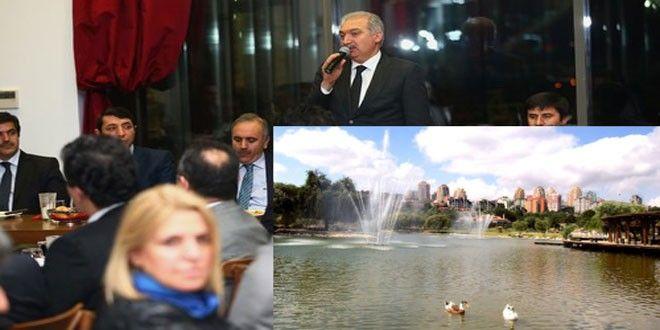 Başakşehir Belediye Başkanı Mevlüt Uysal, Başakşehir'deki parklarda yüzme havuzları açılacağının müjdesini verdi...