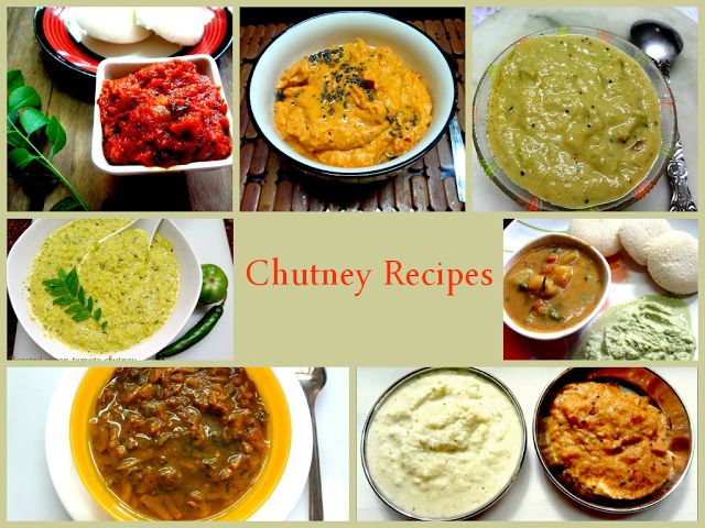 Your Everyday Cook: Idli, dosa , chutney Recipes at a glance