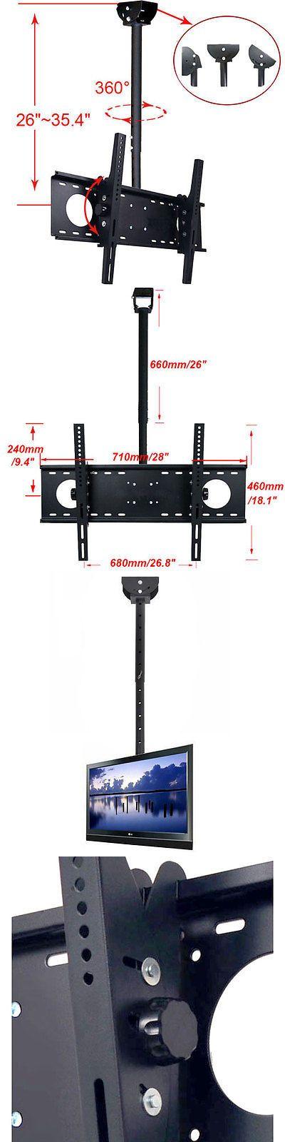 TV Mounts and Brackets: Ceiling Wall Mount Bracket Tilt Led Lcd Plasma Tv 32 39 40 42 46 47 50 55 60 65 -> BUY IT NOW ONLY: $48.99 on eBay!