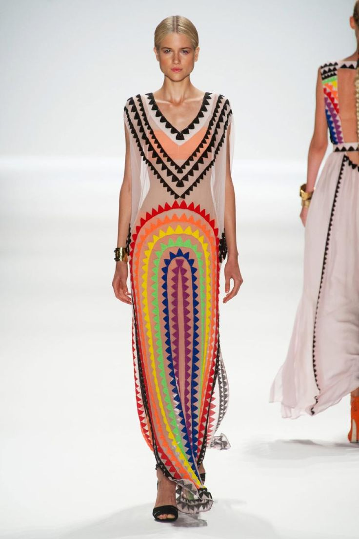 Mara Hoffman, New York, Spring 2014.: Mara Hoffman Dresses, Rs14 1554, 2014 Spring, Hoffman Spring, Street Style, Marahoffman, New York Fashion, London Fashion Week, Spring 2014 Dresses
