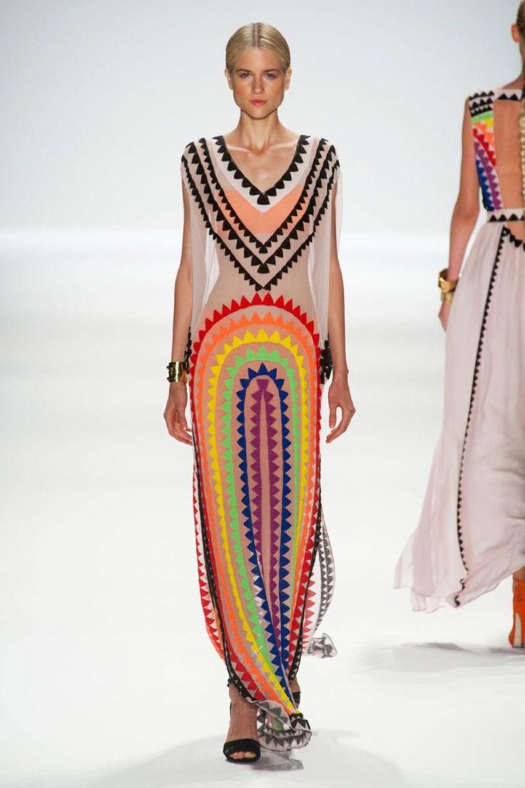 Mara Hoffman, New York, Spring 2014.Rs14 1554, Fashion Models, Rainbows Bright, 2014 Spring, Hoffman Spring, Mara Hoffman, New York Fashion, London Fashion Weeks, Spring 2014 Dresses