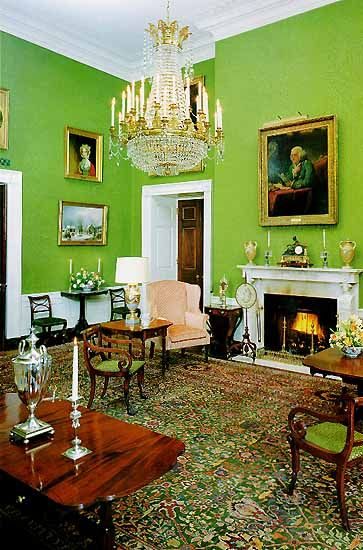 The Green Room ~ The White House ~ Washington D.C.