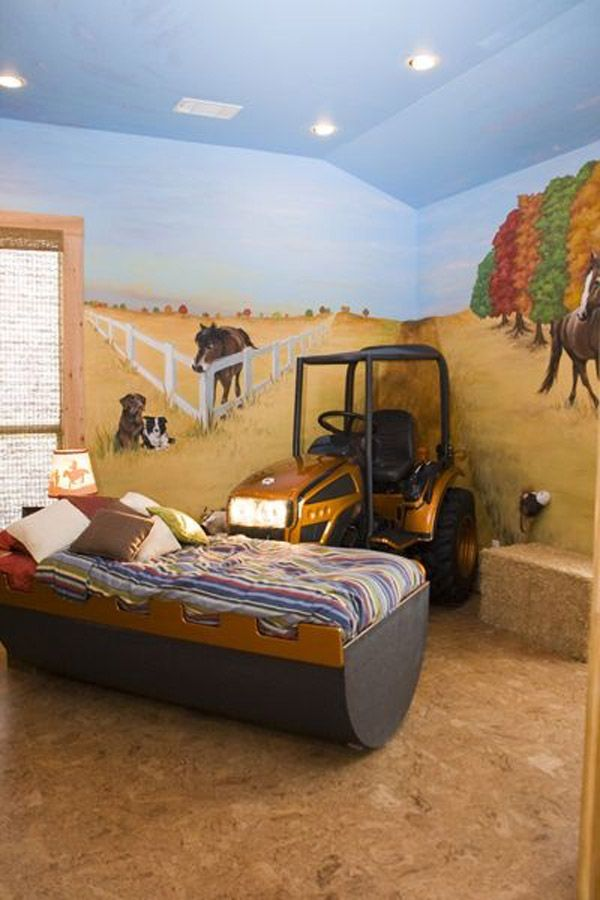 les 25 meilleures id es de la cat gorie lit tracteur sur pinterest lit john deere tracteur. Black Bedroom Furniture Sets. Home Design Ideas