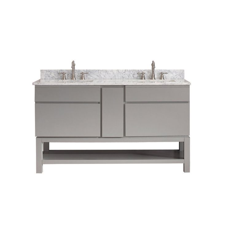 60 double sink vanity with granite top. Avanity TRIBECA VSB60 CG A Chilled Gray  Black Granite Top Tribeca 60 143 best Vanities and up images on Pinterest Bath vanities
