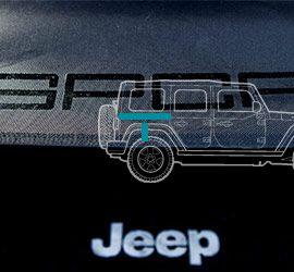 jeep wrangler trunk cargo cover
