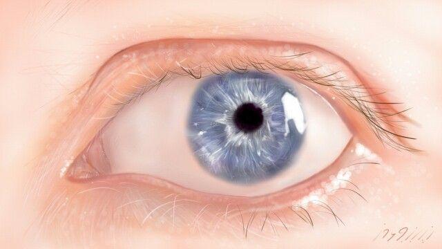 #digital#art#eye#blue